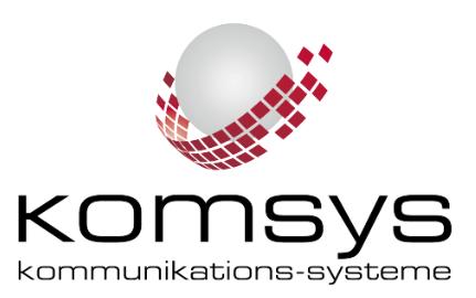 Komsys AG, Hunzenschwil